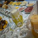 Café da manhã servido na Pousada Alto São Martinho